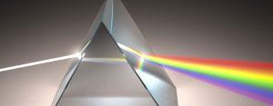 Lichtbrechung im Prisma