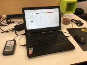 Das Das Spektralradiometer und PAR-Messgerät MSC-15 mit dazugehöriger Software