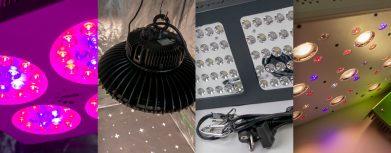 Die besten LED-Pflanzenlampen im Bestseller Test; LED Grow Lampen